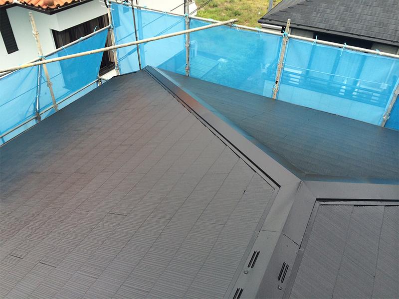 5/5大屋根塗装完了