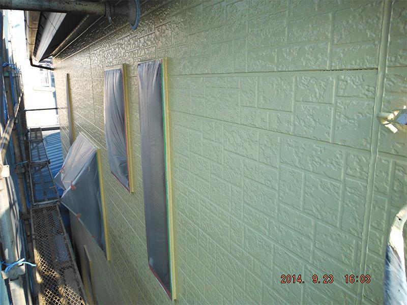 9/23外壁塗装完了