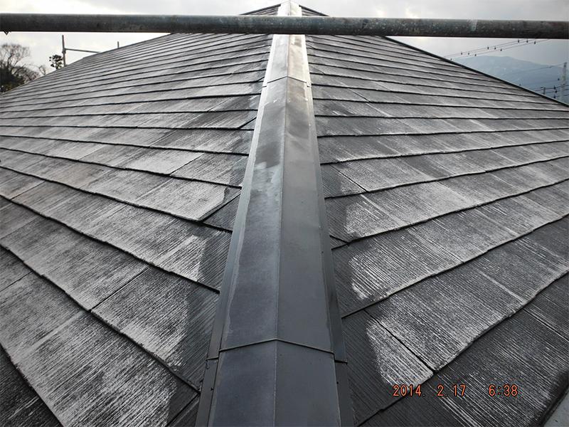 工程⑥ 2/21屋根板時塗装
