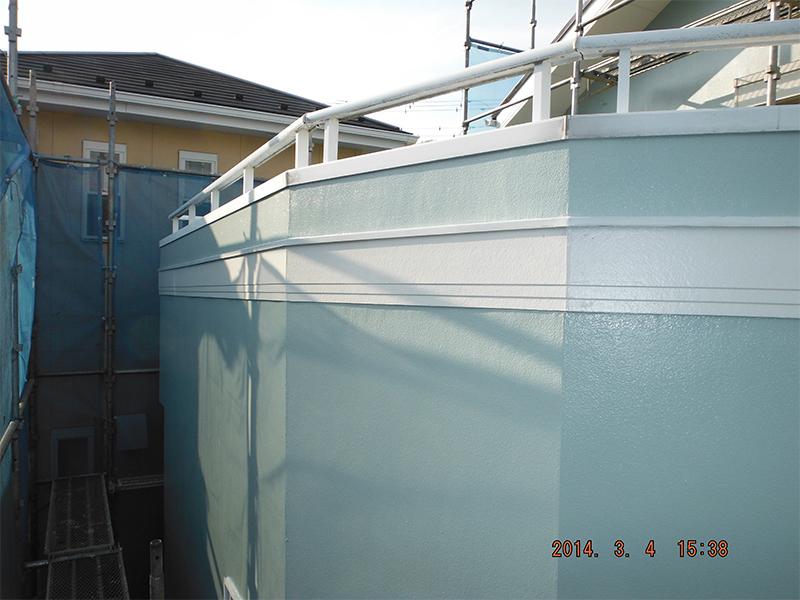 工程⑩ 3/3外壁塗装完了