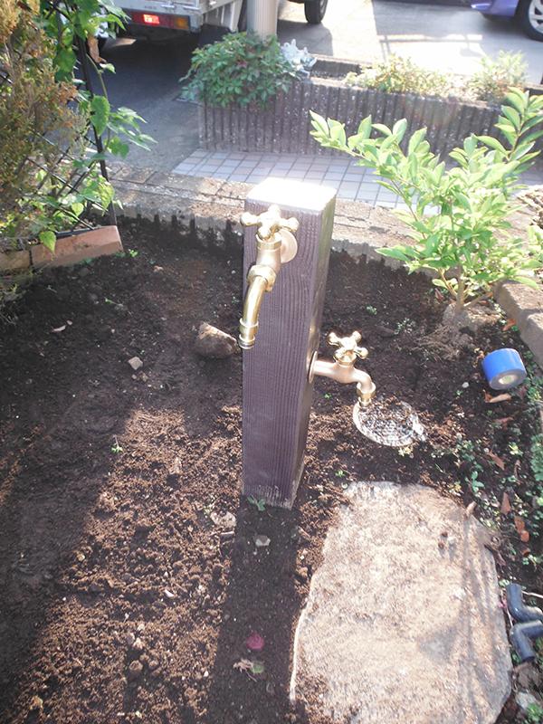 外水栓工事