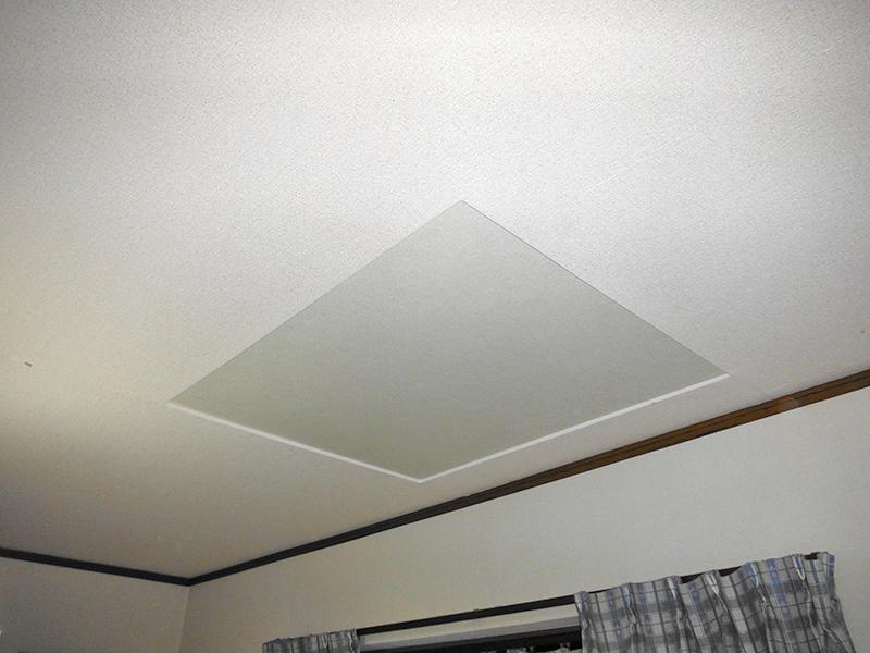 子供室天窓改修工事