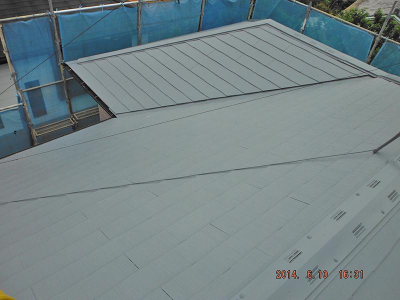 6/10屋根塗装完了