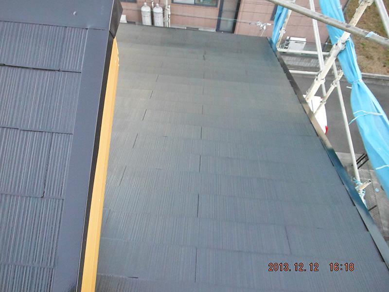22日目(屋根塗装完了)