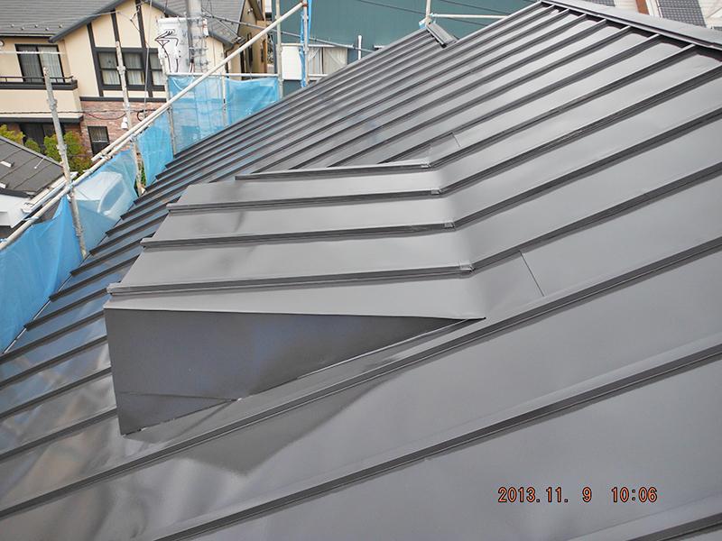 9日目(屋根塗装完了)