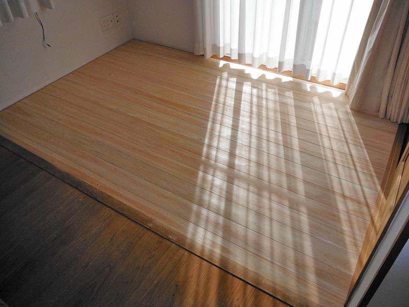 畳コーナー床改修工事