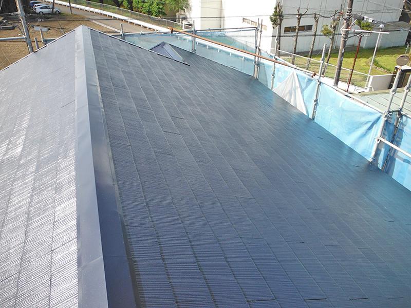 4/26屋根塗装完了