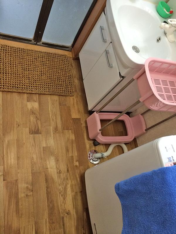 洗面室改修
