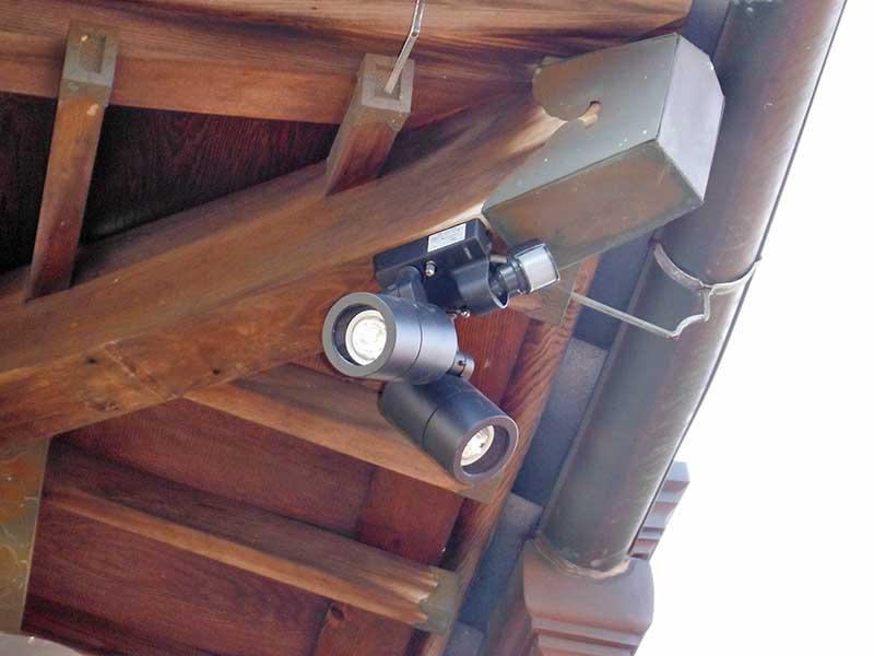 外部照明器具交換工事