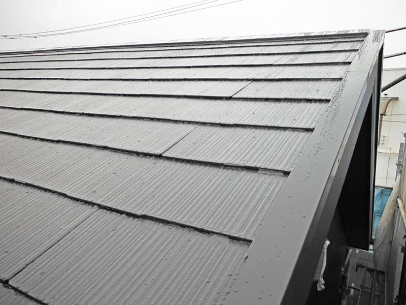 6/9屋根塗装完了