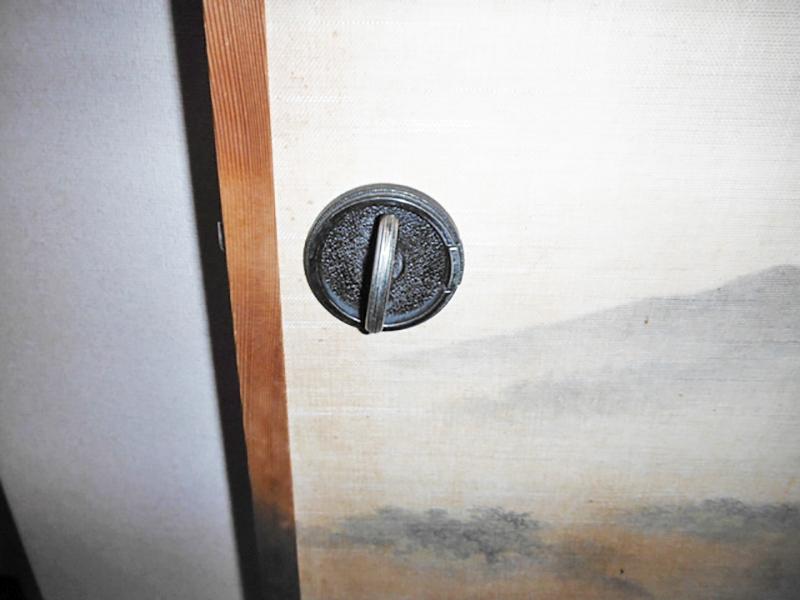 1F和室8帖入口戸取手